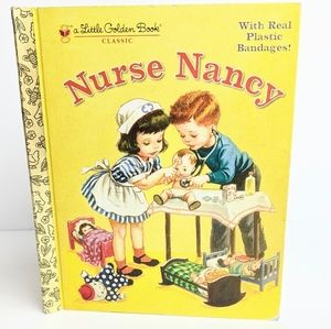 A little Golden Book Classic Nurse Nancy